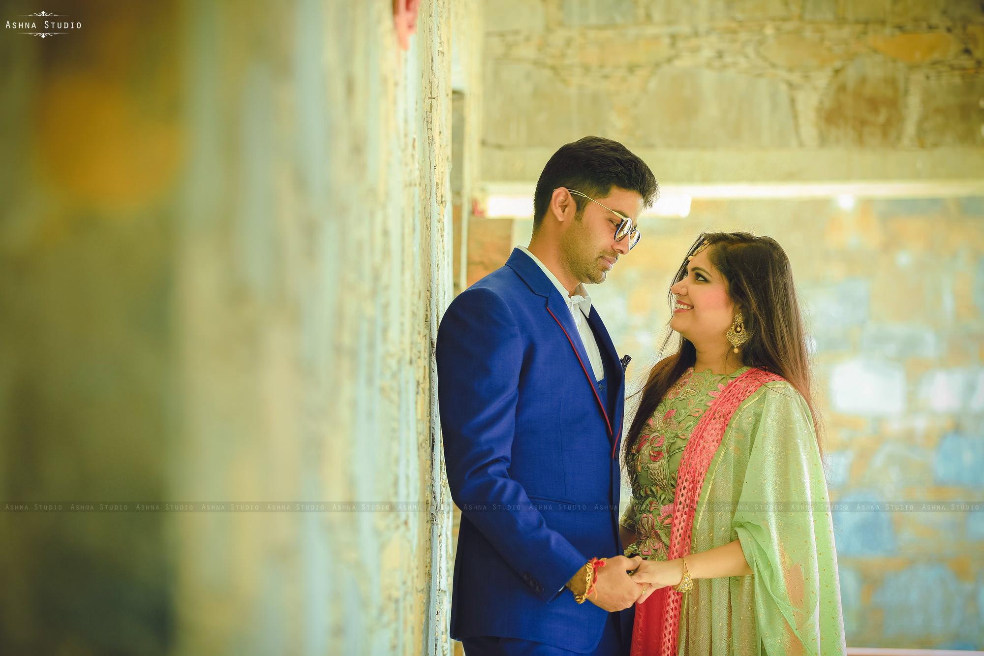 Himani & Nilesh Pre Wedding Photoshoot at The Amargarh Resort Udaipur