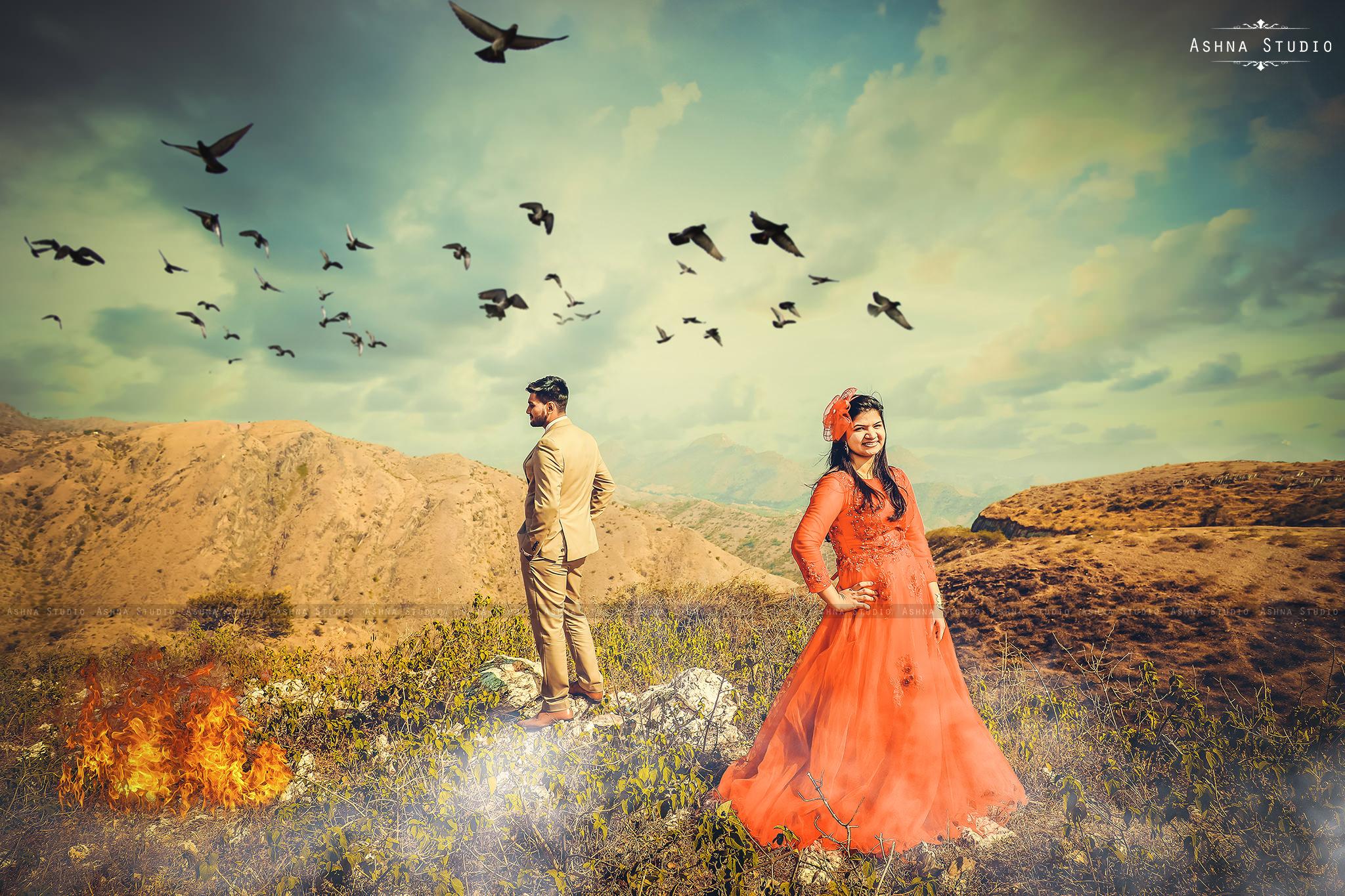 Jay & Kshipra Pre Wedding Photoshoot in Udaipur